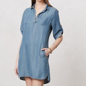 CLOSET CLEAR OUT! Anthro Acata Chambray Dress